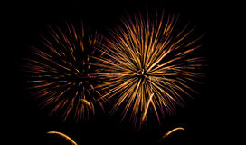 Fireworks USA Royalty Free Stock Images