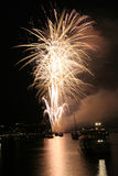 Fireworks in vancouver Stock Images