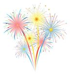 Fireworks Vector Royalty Free Stock Photography