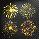 Fireworks vector icon  Royalty Free Stock Photo