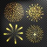 Fireworks vector icon  Royalty Free Stock Photos