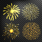 Fireworks vector icon isolated Royalty Free Stock Photo