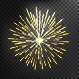 Fireworks vector icon isolated Stock Photos