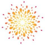 Fireworks vector illustration Royalty Free Stock Image