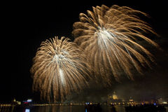 Fireworks Venice Royalty Free Stock Images