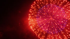 Fireworks VIII Royalty Free Stock Photos