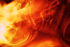 Firey background stock illustration