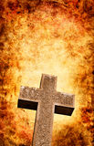 Firey Cross Stock Photography