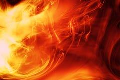 Firey Hintergrund stock abbildung