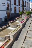 Firgas, Gran Canaria. Paseo de Gran Canaria in Firgas, a tourist attraction Stock Photo