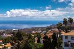 Firgas, Gran Canaria. View over Firgas, Gran Canaria Stock Image