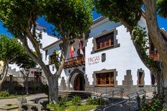 Firgas, Gran Canaria. Villa del Agua in Firgas, Gran Canatia Royalty Free Stock Photography