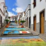 Firgas, Paseo de Canarias Stock Images