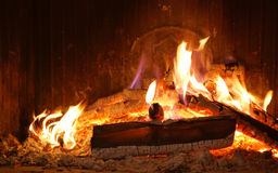 Firing hearth Royalty Free Stock Photo