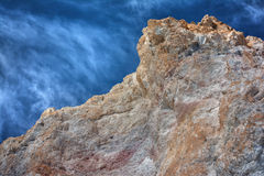 Firiplaka volkanic rock - Milos, Greece Royalty Free Stock Photo