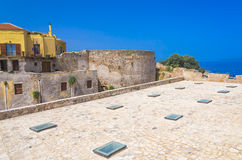 Firkas Fortress of Chania Stock Photos