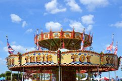 Firle Vintage Fair at Firle Place 2017. Royalty Free Stock Image
