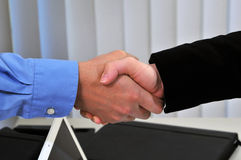 A Firm Handshake Royalty Free Stock Image