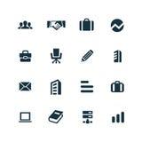 Firm ikony ustawiać Obraz Stock