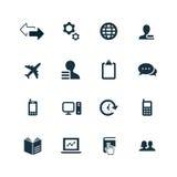 Firm ikony ustawiać Obraz Royalty Free