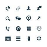 Firm ikony ustawiać Zdjęcie Stock