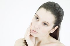 Firm young skin Royalty Free Stock Image