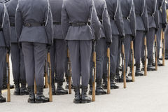 firma żołnierzy Zdjęcie Stock