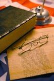 Firma de la escena patriótica de la constitución. Fotos de archivo
