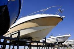 Firma strzeżenie i magazyn łodzie Obraz Royalty Free