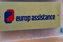 Firma ubezpieczeniowa Europ Assistance obraz stock