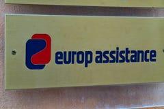 Firma ubezpieczeniowa Europ Assistance zdjęcia stock