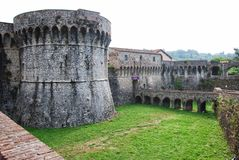 Firmafede-Festung stockbild