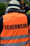 Firman. Firmen in Uniform with helmet Stock Images
