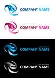 Firmanaam. De elementen van het ontwerp. Royalty-vrije Stock Foto's