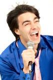 Firmante del Karaoke Fotografía de archivo libre de regalías