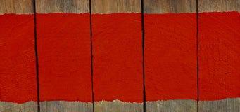 Firme al tablero de madera con la pintura del color, espacio para el texto, fondo Imagen de archivo libre de regalías