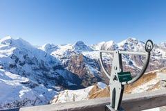 Firme en la montaña del grossglockner en Austria - señalada en el m Fotografía de archivo libre de regalías