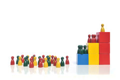 Firmenhierarchie Lizenzfreie Stockbilder