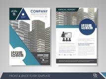 Firmenjahresbericht Stockfoto