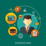Firmenkunde Servicekonzept Lizenzfreies Stockfoto