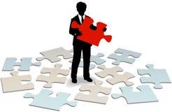 Firmenkunde-Stützantworthilfe Lizenzfreies Stockfoto