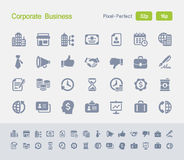 Firmenkundengeschäft | Granit-Ikonen Stockbilder