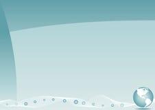 Firmenkundengeschäft-Schablonen-Hintergrund Stockfotografie