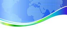Firmenkundengeschäft-Schablonen-Hintergrund Stockbild
