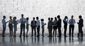 Firmenkundengeschäft Team Discussion Meeting Concept Stockfotos