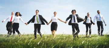Firmenkundengeschäftarbeitskrafttrieb lizenzfreies stockbild