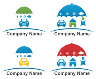 Firmenlogodesign lizenzfreie abbildung