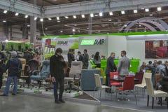 Firmenstand Art Metal Furnitures (AMF) Stockbild