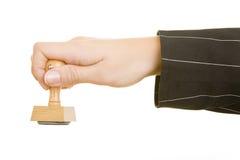 Firmenstempel Lizenzfreies Stockfoto