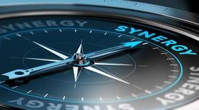 Firmensynergie-Konzept Lizenzfreies Stockfoto